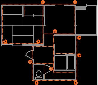 例1、布基礎の全体矯正(千葉県千葉市T様邸)